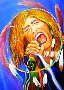 American Singer Paintings - Dream Catcher by To-Tam Gerwe
