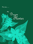 Kriss Orayan - Dream Flower-Green