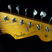 Stratocaster Originals - Dream Guitar by Florene Welebny