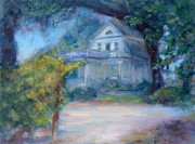 Fruit Tree Art Paintings - Dream House by Quin Sweetman