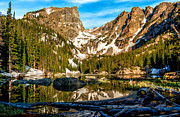 Colorado Mountains Framed Prints Framed Prints - Dream Lake Framed Print by Ed Fiske