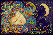 Nickie Bradley Metal Prints - Dream Mask Metal Print by Nickie Bradley