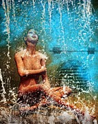 Shower Art - Dream of Water by Bob Orsillo