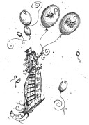 Tea Party Drawings - Dream by Sheri Athwal