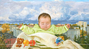 Baby Paintings - Dream by Victoria Kharchenko