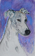 Whippet Painting Posters - Dream Weaver Poster by Cori Solomon