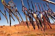 Indigenous Metal Prints - Dreamcatchers Metal Print by Jane Rix