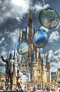 Magic Kingdom Digital Art - Dreamer of Dreams by Ryan Crane