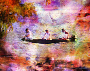 Dreaming About Fishing Print by J Larry Walker