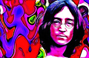 John Lennon  Art - Dreaming of a better World by Stefan Kuhn