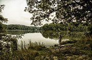 Argyle Digital Art Prints - Dreaming Of Fishing At Argyle Lake Print by Thomas Woolworth