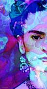 Dreaming Of Frida - Art By Sharon Cummings Print by Sharon Cummings