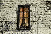 Window Bars Prints - Dreaming of Paris  Print by Steven  Taylor