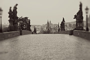 Gas Lamp Photos - Dreaming of Prague by Ivy Ho