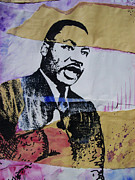 Martin Luther King Mixed Media Posters - Dreams Poster by Chad Rice