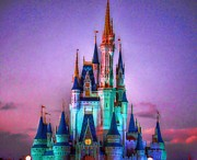 Walt Disney World Prints - Dreams Print by Joetta West