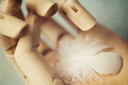 Wooden Hand Photos - Dreams of Flying by Amy Weiss