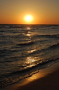 Panama City Beach Prints - Dreamy Sunset Print by May Photography
