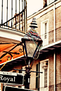 Gas Lamp Prints - Dressed for the Party Print by Scott Pellegrin
