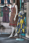 Dresses For Sale Print by Brenda Bryant