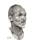 Clyde Drexler Paintings - Drexler by Tamir Barkan