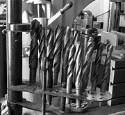 Drill Bits Print by Steven Ralser