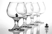 Miniature Photos - Drinking in cups by Paul Ge