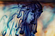 Lonely Girl Digital Art - Dripping Existence by Stephanie Hollingsworth