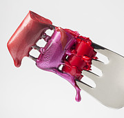 Lipstick Art - Dripping Lipstick by Garry Gay