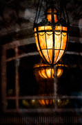 Austin Tx Prints - Driskill Hotel Lamp Print by Doug Sturgess