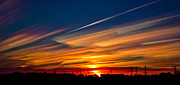 Matt Molloy Prints - Drive By Sunset Print by Matt Molloy