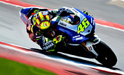 Valentino Prints - Drive Chain Valentino Rossi  Print by Iconic Images Art Gallery David Pucciarelli