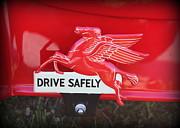 Drive Safely Print by Jennifer Gross