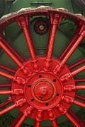 Antique Tractor Posters - Drive Wheel Poster by Paul W Faust -  Impressions of Light