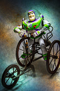 Pixar Digital Art - Driving Buzzed by Randy Turnbow