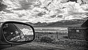 Cloudy Day Digital Art - Driving Through Colorado by Susan Stone