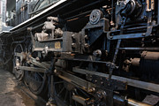Historic Vehicle Photo Originals - Driving Wheels engine 40 by Dan Hartford