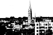 Altered Architecture Prints - Drogheda City Print by Charlie and Norma Brock