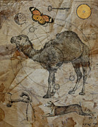 Judy Wood Digital Art - Dromedary by Judy Wood