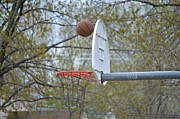 Basketball Abstract Photos - Dropping in by Sonali Gangane
