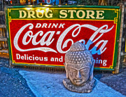 Drug Store Buddha Print by Gregory Dyer