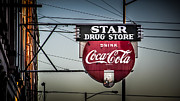 Drug Store Print by Perry Webster