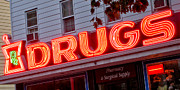 Drugstore Photos - Drugs by Olivier Le Queinec