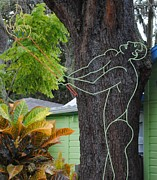 Tree Art Sculptures - Druid by Robert Buck
