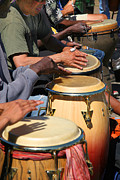 Jamming Framed Prints - Drum Jammin in Golden Gate Park Framed Print by Robert Woodward