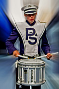 Psu Posters - Drumer Poster by Gallery Three