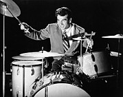 Drummer Art - Drummer Gene Krupa by Underwood Archives