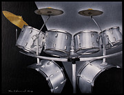 Drum Set Art Prints - Drums Print by Ken Howard