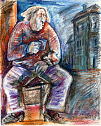 Chair Drawings - Drunkard by Milen Litchkov