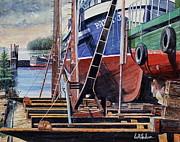 Dry Dock Print by Bill Hudson